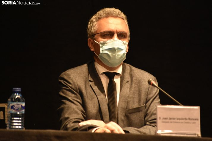 Javier Izquierdo, delegado del Gobierno en Castilla y León.