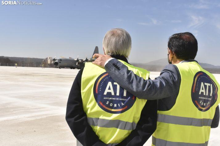 La próxima empresa en llegar al ATI podría ser una escuela de vuelo acrobático
