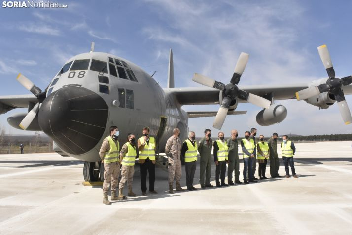 El primer Hércules del Ejército aterriza en Soria.