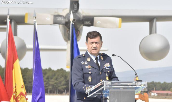 Ignacio Bengoechea, jefe del Mando de Apoyo Logístico (MALOG) del Ejército del Aire.