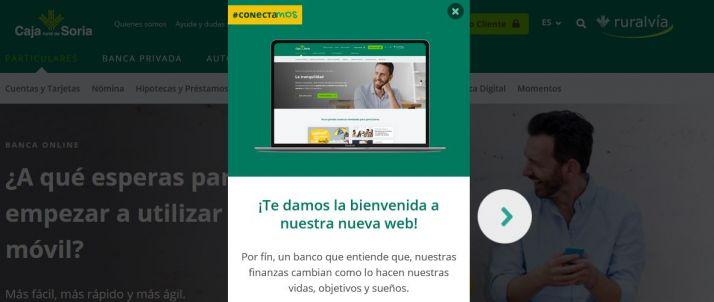 Foto 1 - Caja Rural de Soria renueva su web comercial para ofrecer un servicio más digital y cercano a sus clientes