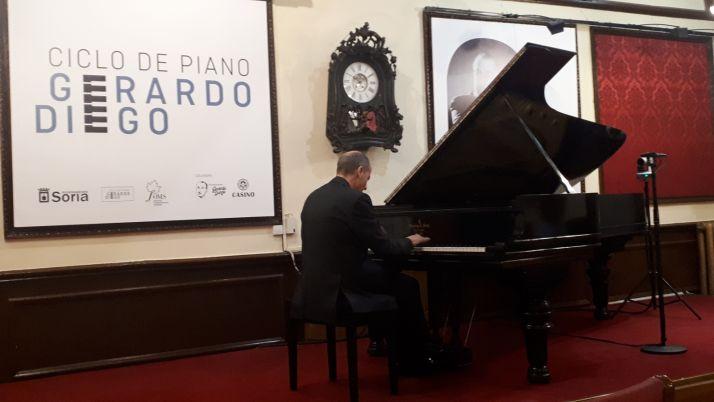 Foto 1 - El Ciclo de Piano Gerardo Diego continúa este fin de semana en el Círculo Amistad Numancia
