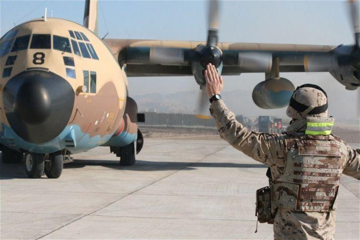 Foto 1 - A esta hora debes mirar mañana el cielo en Soria para ver el primer Hércules del Ejército que aterrizará en Garray