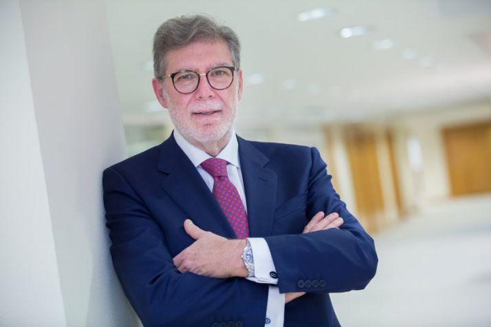 Santiago Aparicio, presidente de CEOE CyL en una imagen de archivo.