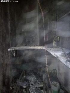 Foto 3 - Incendio en una empresa del polígono de Ólvega