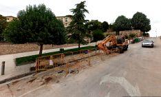 Imagen de la calle Calixto Pereda en unas anteriores obras. /GM