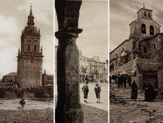 Catedral de El Burgo, plaza Mayor de Medinaceli y la Virgen del Ribero en San Esteban.