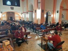 Homenaje a las Carmelitas Descalzas por la Cofradía de la Oración en el Huerto.