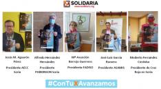 Diferentes asociaciones que participan en la campaña./ Foto: Fadiso Soria.