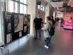 Imágenes de la exposición del Mercado Municipal.
