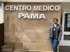 Miriam Pastor en el Centro Médico PAMA.