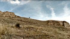 Restos de la muralla medinense en una imagen de archivo. /GM