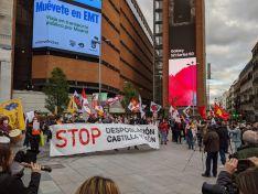 Manifestación de ayer en Madrid./ Foto: Soria ¡Ya!