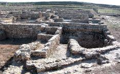 Una imagen del yacimiento de Uxama.