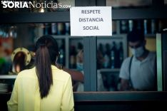 FOES pide a la Junta la reapertura de bares y restaurantes en la capital y El Burgo de Osma