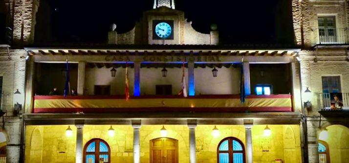 Fachada del Ayuntamiento de El Burgo de Osma.