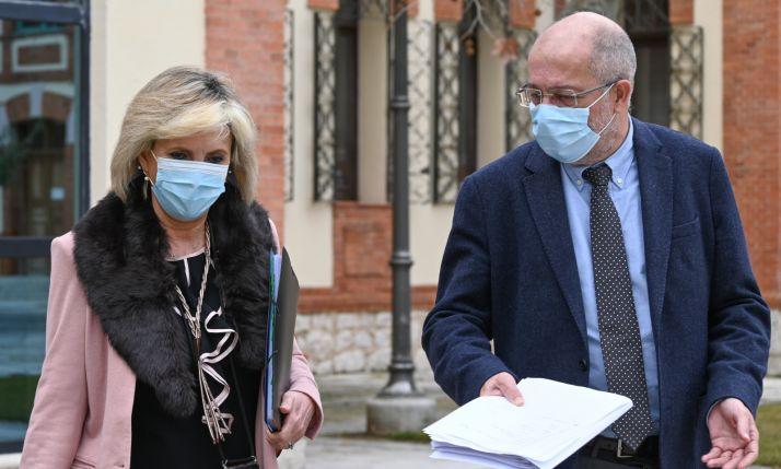 Igea pide a Mínguez que reconozca que la Junta lo está haciendo bien con la vacunación en Soria