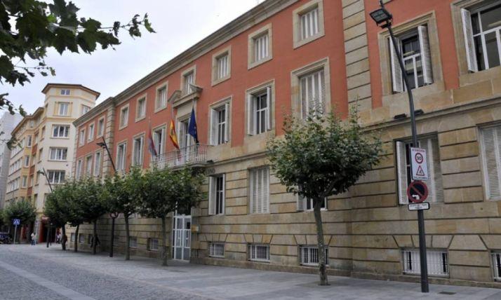 Fachada de la Subdelegación del Gobierno en Soria.