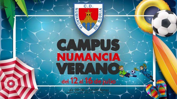 Foto 1 - El Numancia lanza su campus de verano