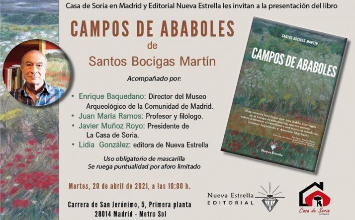 Foto 1 - La Casa de Soria en Madrid acoge este martes la presentación del libro 'Campos de ababoles'