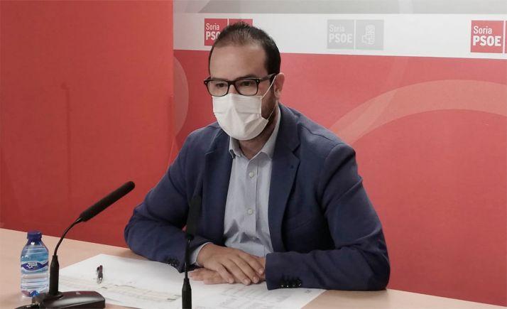 Hernández, este lunes en comparecencia de prensa.