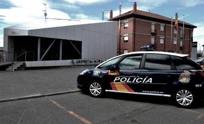Imagen de la comisaría del CNE en Astorga.