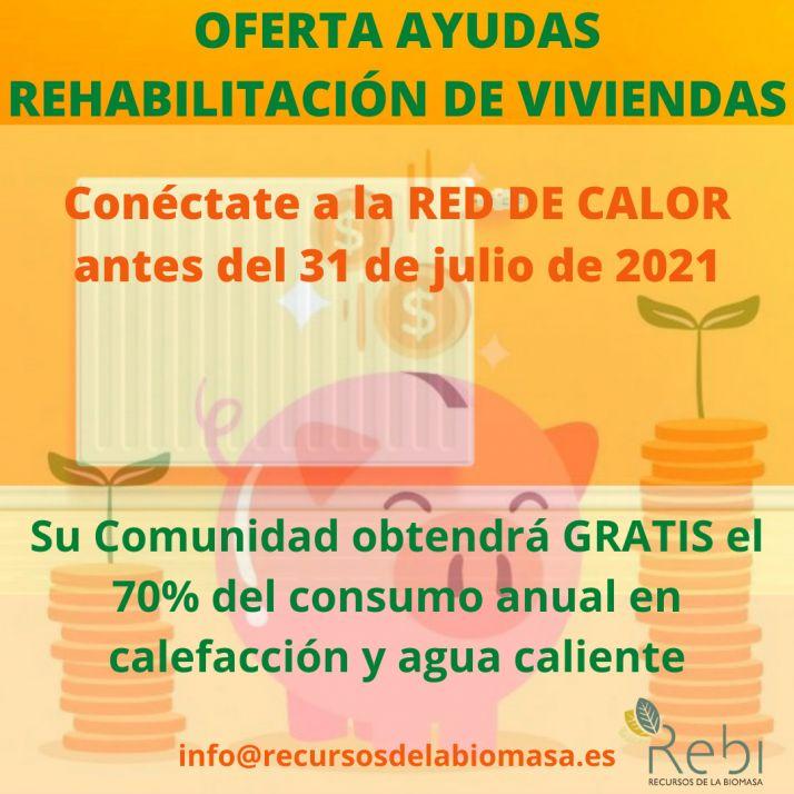 Foto 2 - La conexión a la Red de Calor antes de agosto se beneficiará de ayudas de rehabilitación energética
