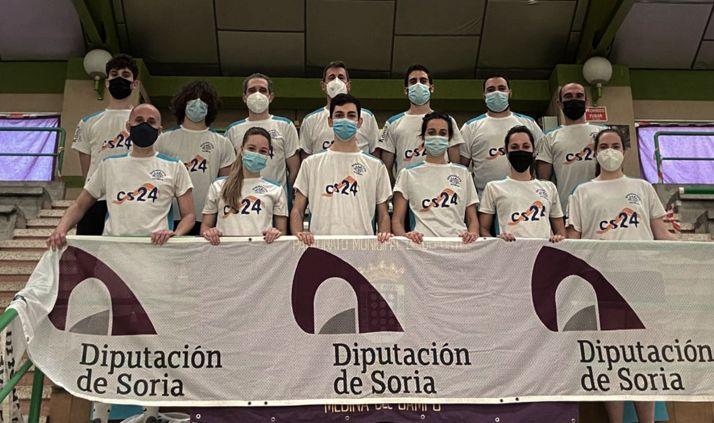 Foto 1 - El Bádminton Soria-CS24 disputa la cuarta jornada liguera en Estella