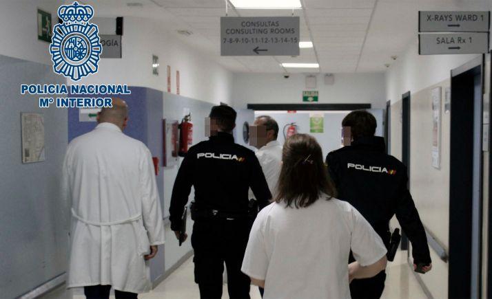 Foto 1 - Detenido en Miranda de Ebro por amenazar a dos sanitarias de un centro de salud