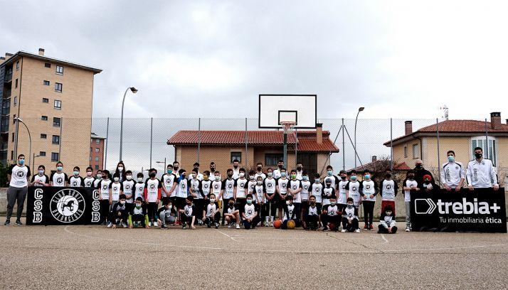 Foto 1 - La Escuela de baloncesto CSB se consolida con más de 70 deportistas en la temporada más difícil