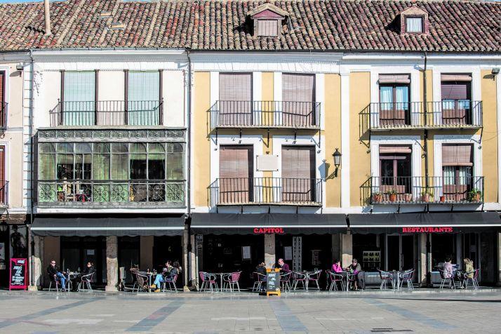 Las terrazas de El Burgo en una imágen de archivo.