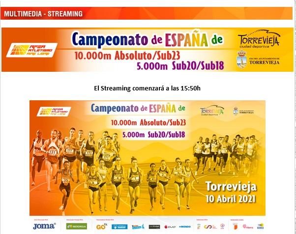 Foto 1 - Cinco atletas de Soria, en el Campeonato de España de 10.000 y 5.000 de Torrevieja