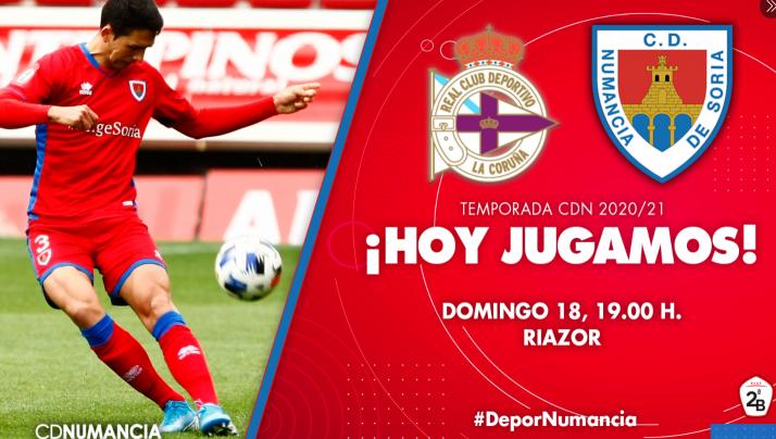 Foto 1 - Así te hemos contado el Deportivo de la Coruña vs Numancia