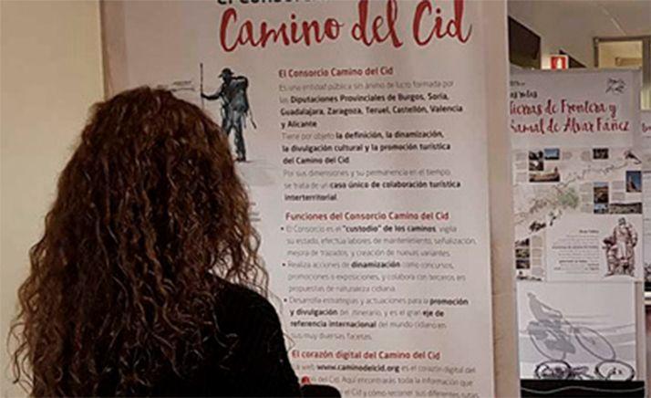 Foto 1 - La exposición del Camino del Cid llega a Arcos de Jalón