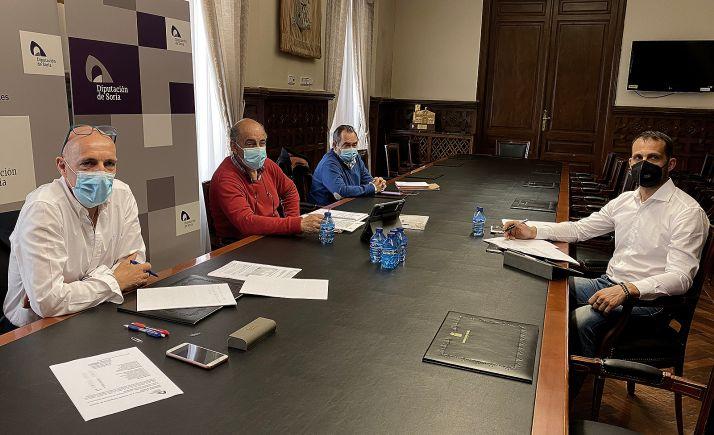 Imagen de la Comisión celebrada hoy en el Palacio Provincial. /Dip.