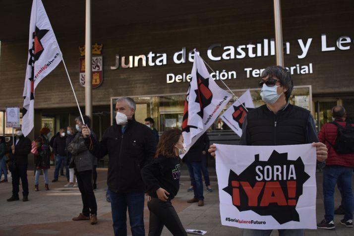 Foto 1 - Soria ¡Ya! recordará todos los días a los políticos los retrasos en las obras de la provincia