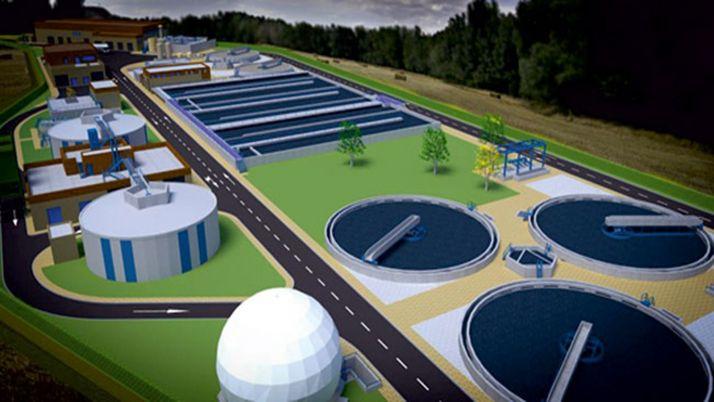 Plano del proyecto de las instalaciones.