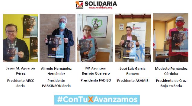 """Foto 2 - Campaña IRPF 2021- """"Marca la X solidaria"""""""