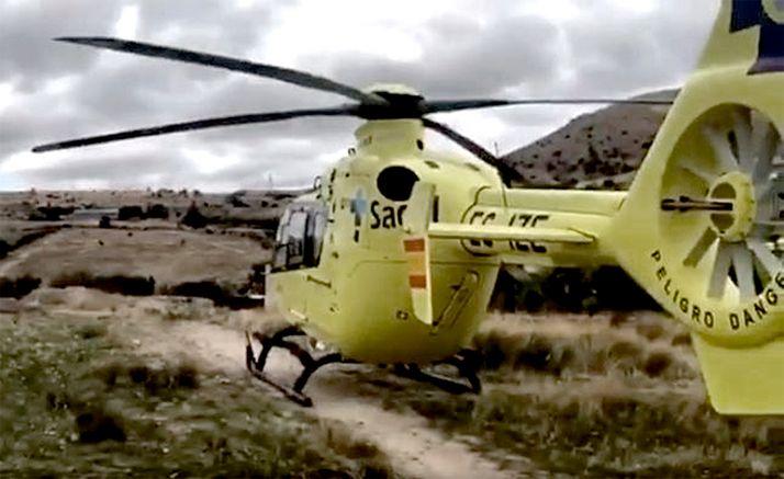 Foto 1 - Rescatada una montañera herida en Gredos