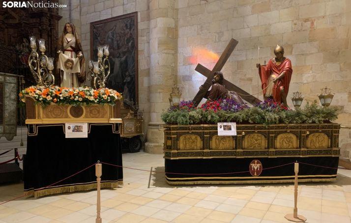 Exposición de la Semana Santa en Soria.