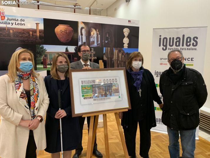 Foto 1 - El Museo Numantino protagonizará el Cupón de la ONCE