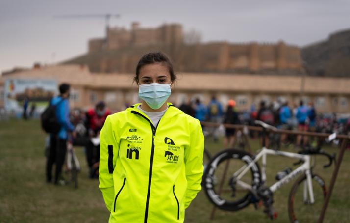 Foto 1 - Marina Muñoz elegida mejor deportista promesa de Castilla y León