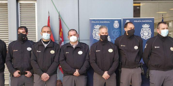 Foto 2 - Menciones honoríficas a los 10 vigilantes de seguridad del Hospital de Soria