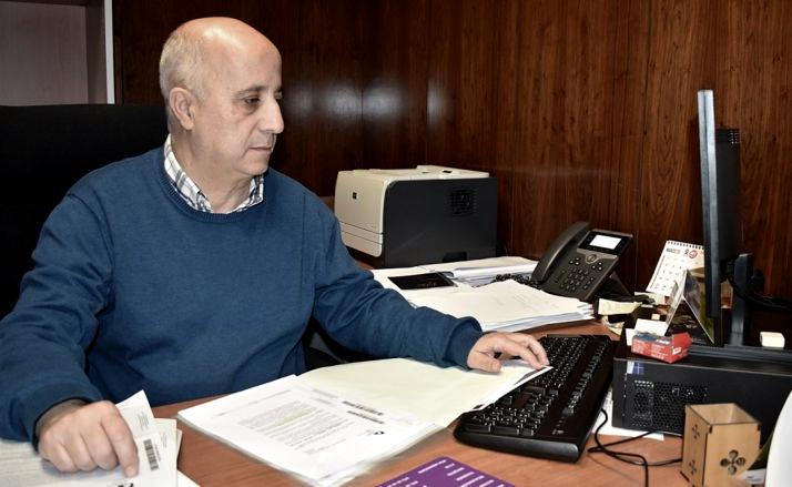 Javier Navarro, diputado responsable de área.