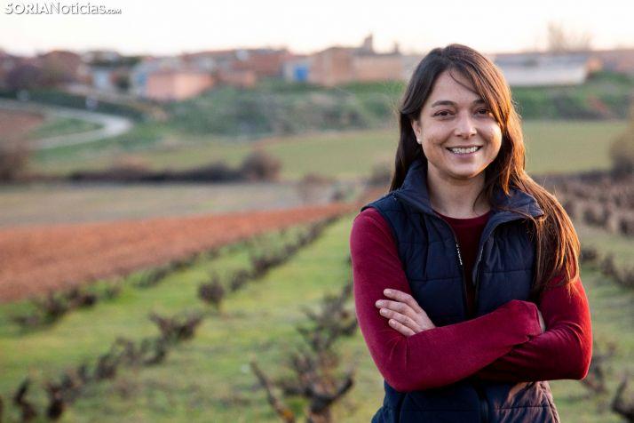 Ana Carazo es propietaria de La Loba y promotora de la revolución en Matanza de Soria. /María Ferrer