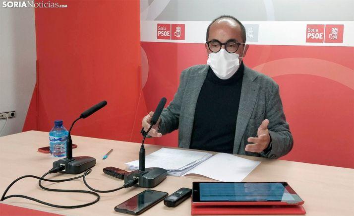 Luis Rey, este miércoles en comparecencia informativa. /SN