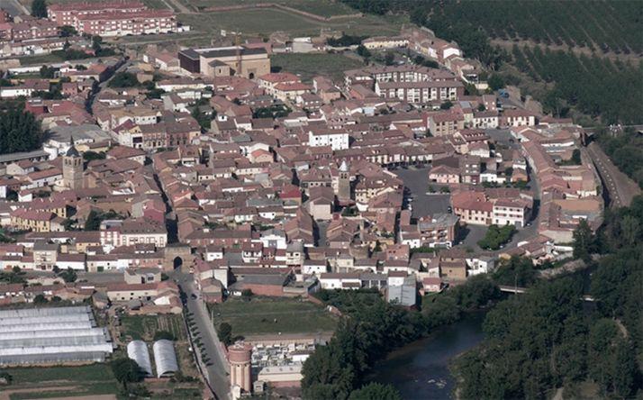 Imagen aérea de la localidad leonesa.