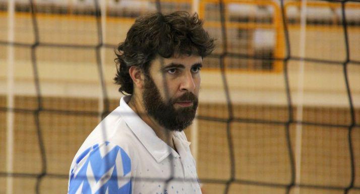 Manuel Sevillano durante un entrenamiento. /María Morales