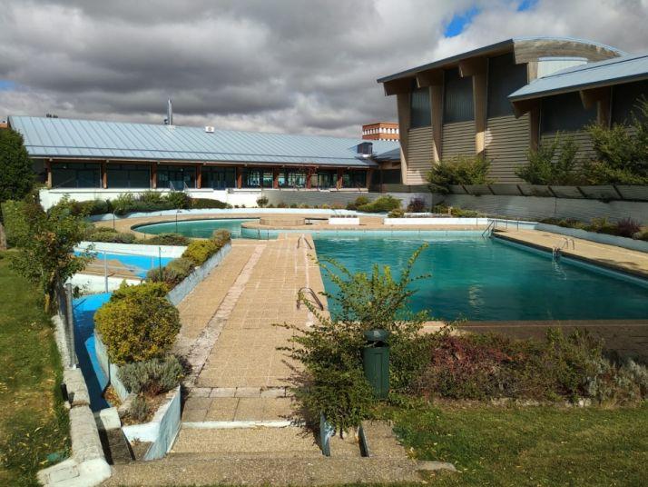 Imagen de archivo de las piscinas de Ólvega.