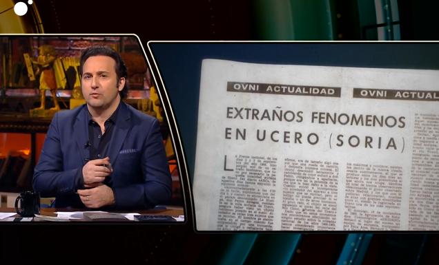 Iker Jiméz rescata el suceso paranormal ocurrido en Ucero: la llegada de un OVNI